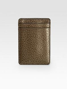 Marc by Marc Jacobs Leather Money Clip
