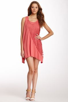 Layered Crochet Knit Dress on HauteLook