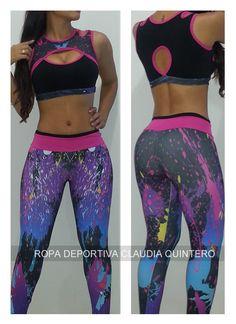 Conjunto Deportivo Ref. 382. Diseñadora Claudia Quintero