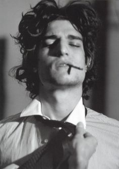 Louis Garrel photographed  by Bruce Weber.