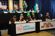 Phil's BBQrew working the phones at the SD Humane Society's Telethon! It was super fun!