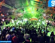 #TBT Freaky Forest @ Bella Terra Roof top... 2010