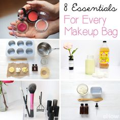 These are the must-have essentials you should have in your makeup bag!  http://www.ehow.com/how_12343307_8-essentials-makeup-bag.html?utm_source=pinterest.com&utm_medium=referral&utm_content=curated&utm_campaign=fanpage