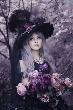 ☠ Lolita's Gothic Emporium ☠ I mostly like all of the purple