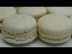 Earl Grey Tea Macarons with Honey Buttercream Filling - YouTube
