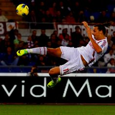 "Zlatan ""the samurai"" Ibrahimovic"