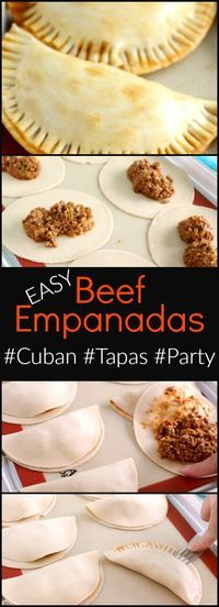 These easy to make Beef Empanadas are worth a second look with updated post text and all new images. These Beef Empanadas are also extremely easy to make and are a great addition to any tapas or party menu.