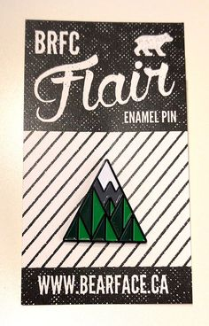 7c1c7a9ad61 67 Trees Enamel Pin by BRFC on Etsy