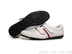 Prada Footwear in White Prada Sneakers, Sneakers Nike, Prada Tote, Prada Men, Michael Kors Outlet, Footwear, Luxury, My Style, Outlet Store