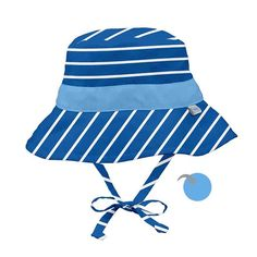 8a7823f6f9dc i play Royal Stripe Reversible Bucket Sun Hat - Infant   Toddler