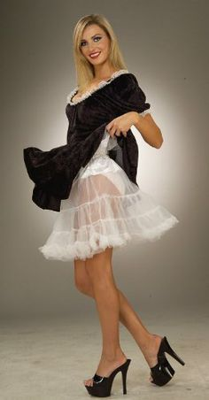 Petticoat - Adult Accessory - White - http://www.thepuppy.org/petticoat-adult-accessory-white/