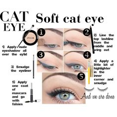 """""""Cat Eye Is The New Black"""" by malicefashionworld on Polyvore"""