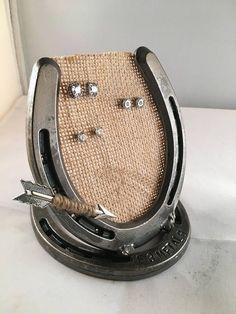 Lucky Horseshoe Earring Holder Earring Holder Earring #JewelryDisplays