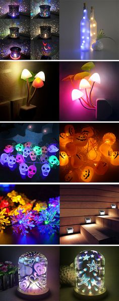 home decor ideas:LED Night Lights