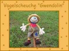 """Häkelanleitung+""""Vogelscheuche+Gwendolin""""+from+Babsie´s+Hook+by+DaWanda.com"""