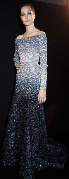 Backstage at Elie Saab Couture Fall 2014 More