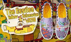 Brain Magazine - Lèche Vitrines - Vans x The Beatles Yellow Submarine