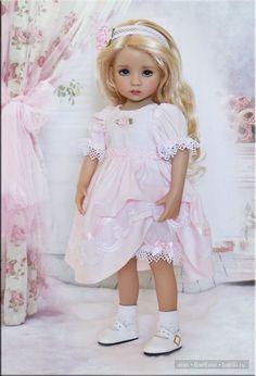 Самые женственные и красивые куклы от Дианы Эффнер и её учениц / Коллекционные куклы Дианны Эффнер, Dianna Effner / Бэйбики. Куклы фото. Одежда для кукол