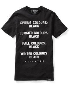 Killstar Clothing Season Mens T Shirt Tee Black Nu Goth Punk Occult in Clothes, Shoes & Accessories, Men's Clothing, T-Shirts | eBay