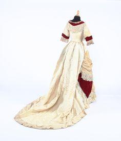 Dress, late 1870's