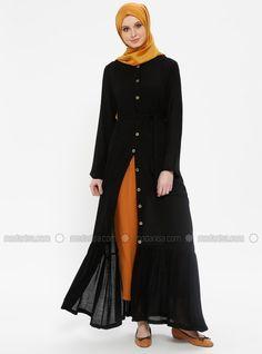 f240aa2703a21 Vivezza Kruvaze Ön Arka Pelerin Astarlı Kap-Lacivert 6713-17 & E-Tesettür    tr.shopping in 2019   Coat, Jackets, Raincoat