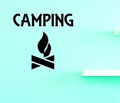 Design with Vinyl Top Selling Decals Camping Wall Art, 16