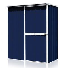 EasySHED Flat Roof 1.50m x 1.50m Single Door Colour Shed | Cheap Sheds