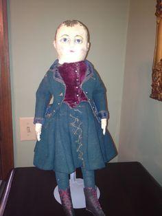 Izannah Walker Chronicles: Rebecca Hawkin's Izannah Walker Boy Doll