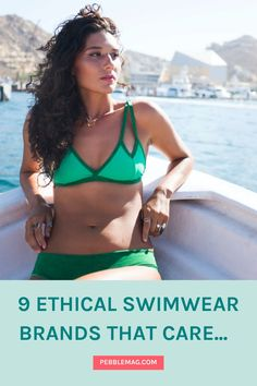 Discover the best ethical swimwear whether you need eco friendly bathing suits, boardshorts or a sustainable bikini. These brands all deliver a slow fashion approach, using high quality materials & often recycled plastic fabric. So whether you are looking for mix and match bikini ideas or plus size swimsuits you'll be able to do it with eco conscious style. Sustainable Style, Sustainable Living, Sustainable Fashion, Vegan Clothing, Ethical Clothing, Independent Clothing, Mix And Match Bikini, Ethical Fashion Brands, Eco Friendly Fashion