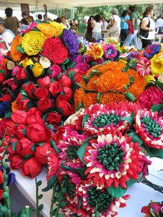 Flores de papel en Mexico | Flickr - Photo Sharing!