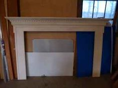 Large wood fireplace mantle - $300 (fitchburg)