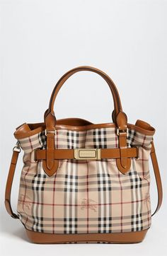 Burberry 'Haymarket Check' Tote available at #Nordstrom