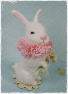 spun cotton Bouquet Bunnie - Easter