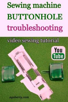 Check out these 9 tips for sewing buttonholes and what to do if your buttonhole foot gets stuck/not moving. Learn how to use a buttonhole foot and how to use a sewing machine to make easy DIY buttonholes. Learn how to fix automatic buttonhole problems. Sewing For Beginners Diy, Sewing For Dummies, Sewing Basics, Easy Sewing Patterns, Easy Sewing Projects, Sewing Hacks, Sewing Tutorials, Sewing Tips