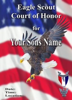 boy scout powerpoint template - eagle scout court of honor eagle scout ceremony program