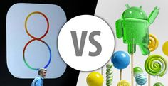 Apple's iOS 8 vs. Android Lollipop: Which Mobile OS is King? Electronic News, Ios 8, Tech Gadgets, Smartphone, Apple, More, Creative, Software, King
