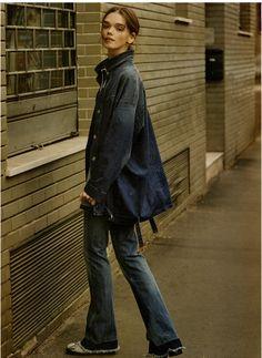 Giacca over di denim, boyfriend style! For #GioiaMagazine. #OVS #OVSpressclipping