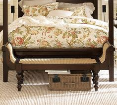 I really wanted this bench from Pottery Barn, but it's been discontinued. If anyone sees one anywhere, please let me know!