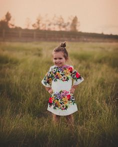 Floral 'Hannah' dress from www.edenandfaith.com - girl - baby - cute - clothes - infant - boutique - photography - child - photoshoot