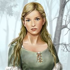 Character artwork for the Facebook based game based on George R. R. Martin's fantasy/medieval series. Description from deviantart.com.