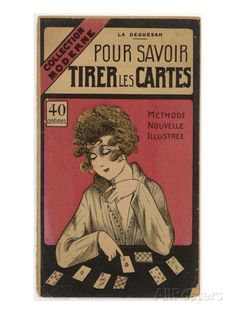 French Manual on How to Tell Fortunes with Playing Cards Giclee Print at AllPosters.com