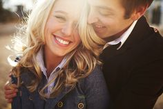 Love sunflares in photos! Engagement Shots, Engagement Couple, Engagement Pictures, Engagement Photography, Country Engagement, Engagement Ideas, Fall Engagement, Wedding Couple Photos, Cute Photography