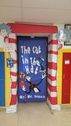 The Cat in the Hat Classroom Door How I NEED this ...