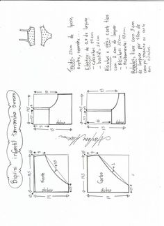 × Source by helgahartegen Kids Dress Patterns, Sewing Patterns Free, Clothing Patterns, Underwear Pattern, Lingerie Patterns, Sewing For Kids, Baby Sewing, Sewing Clothes, Diy Clothes