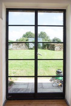 Barn Conversion Doors ag210 door and window situated in barn conversion #steeldoors