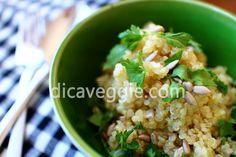 Quinoa! Uma maneira muito gostosa e simples de preparar. | DicaVeggie