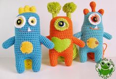 Crochet toys by Kazeleka