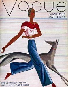 Dog Illustrations in Vogue