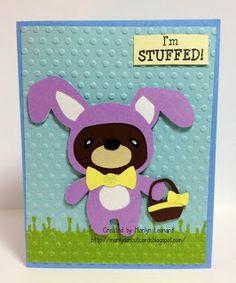 ~ Marilyn's Cricut Cards ~: Teddy Bear Parade - Easter Bunny