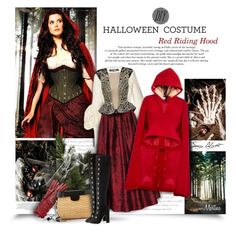 """DIY Halloween Costume:Red Riding Hood"" by thewondersoffashion ❤ liked on Polyvore featuring Jacquemus, Alice + Olivia, Julien Macdonald, Delpozo, Burberry, Alexander McQueen, Edie Parker and Aquazzura"